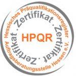 Präqualifiziert im HPQR